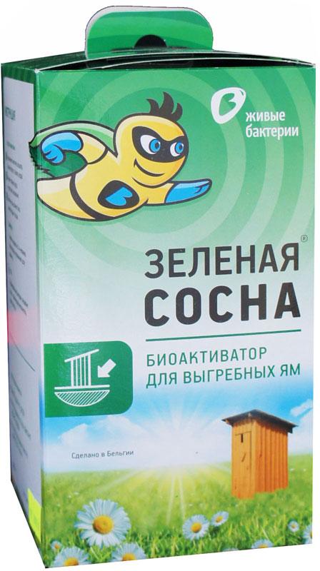 Биоактиватор Зеленая сосна для дачных туалетов без смыва водой